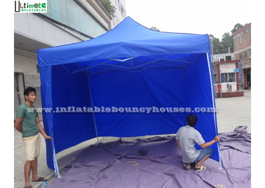Blue Folding Inflatable Camping Tent Giant For Commercial Use EN71