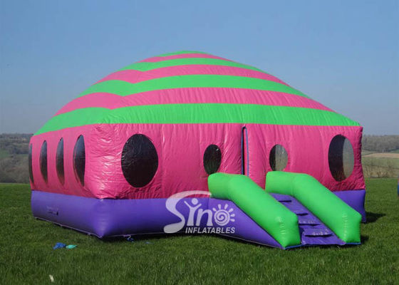 6x6m commercial kids N adults inflatable moonwalk bouncing castle with double N quadruple stitch from Sino Inflatables